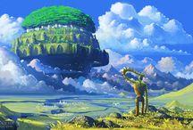 chateau dans le ciel :) <3