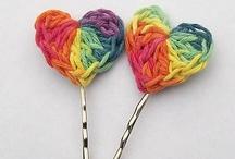 Crochet hair bobbles