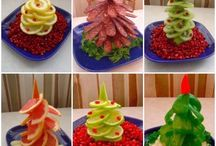 Jedlé dekorace