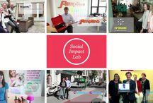 Social Enterprises / Een social enterprise lijkt op een 'gewone' onderneming: het bedrijf levert een product of dienst en heeft een verdienmodel. Geld verdienen is echter niet het doel, maar een middel om de werkelijke missie te bereiken, namelijk het creëren van maatschappelijke impact.