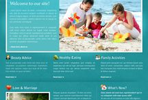 Website template PSD @ $10