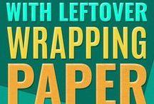 DIY csomagoló papír