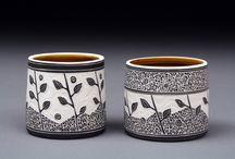 Pottery - sgraffito