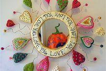 Paper mache love