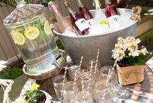 Garden party ideas / Summer garden party food, drink and decorations!