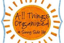 Organize... / by XtraOrdinaryMom
