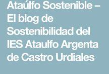 Ataúlfo Sostenible / Tablero Recursos Sostenibilidad IES Ataúlfo Argenta