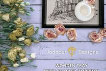 Wooden Trays & coasters / Buy Trays & Coasters Online in Sydney,Australia. Shop the best collection of decorative wooden trays & coasters online for serving tea & coffee for your home at Jodhpurdesigns.