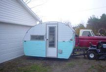Decorating a Little Gem Bug vintage trailer