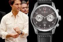 Celebrities & Watches / Celebrities have the fund and access to find/wear the coolest watches on the world!