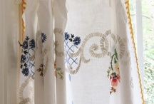 Vintage linen repurposed