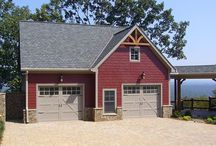 Garage Apartment Plans / Garage Apartment Plans with at least a one car garage or greater and an apartment space.