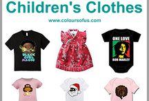 Multicultural Children's Clothes