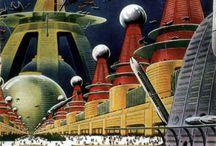 Retro-Futurism & Sci-Fi Art / by Alien Samadhi
