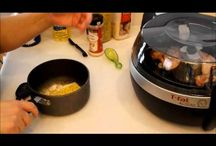 COOKING WITH AN T-FAL ACTIFRYER / COOKING WITH LESS FAT