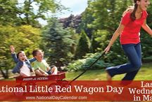 NATIONAL LITTLE RED WAGON DAY Galore