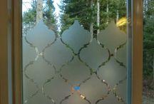делаем матовое стекло