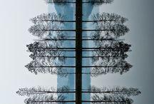 A Level Textiles: Vertical Structures