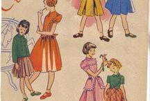 moda años 40/50