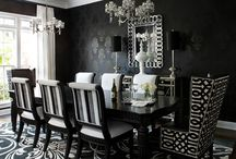 Black and white decor for Vancouver flat