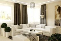 Interior design Apartments Living Room , Hallway / Interior design Apartments - IMART Interior Modern ARchitecTure
