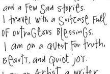 Words / by Myra Barrera