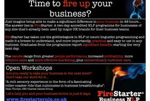 Firestarter / This board describes the neurolinguistic programming (NLP) Practitioner course developed by Stratagem Plus in the UK and represented by Profweb in South Africa