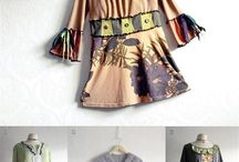 Up cycled clothes / by Sue Burrows