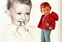 Vintage deutch dolls