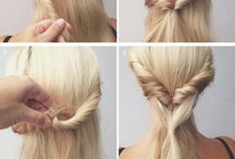 Tie up hair do's / Mid to long hair