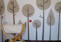 Forest kids room