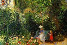 Garden paintings / Garden paintings& drawings