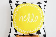Hello Yellow! / Yellow items to fall in love with!