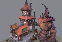 CONCEPT ART//ARCHITECTURE//HOUSES