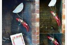 Elf on a shelf ideas! / by Madi House