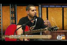 Música - Programa Palavra Acústica / Participando ao vivo do Programa Palavra Acústica na JusTV