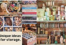 Projects to try...storage (mostly for sewing room) / storage ideas