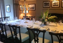 Private Dining Areas in the Castle