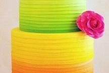 I do: cakes & flowers