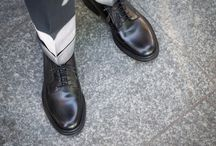 Derby shoes / Casual Friday. Derby shoes handcrafted in Italy.