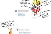 Ragnagna Mangedécroûtes fait du Blog-Bédé avec les pieds / Elle est bête mais elle est gentille... enfin... des fois...