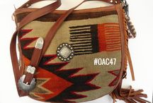 Southwestern style Handbags / I make my handbags from fine leather and re-purposed beautiful fragments of vintage Navajo rugs,  I take my handbag materials from good rug fragments