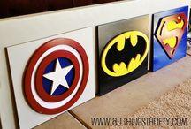 superhelden kinderzimmer