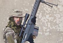 Armia. / Żołnierze ,wspaniali ludzie poświęcający się dla Narodu.