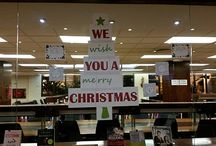 Christmas 2016 / Christmas has arrived in the Library. You can feel it in the air and see it in the decorations. Have you seen the Christmas Tree, which was made out of very special material? Come and participate!