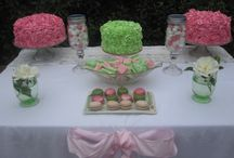Sweets Endings - Styled Celebration Tables / Dessert and Candy Buffet tables