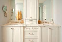 Bathroom design and organization / by Debbie Warner