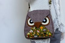 •♥✿♥•  Owl Bags •♥✿♥•