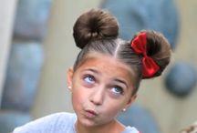 Little girls hair do's / For Sophia