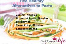healthy allternative pastas